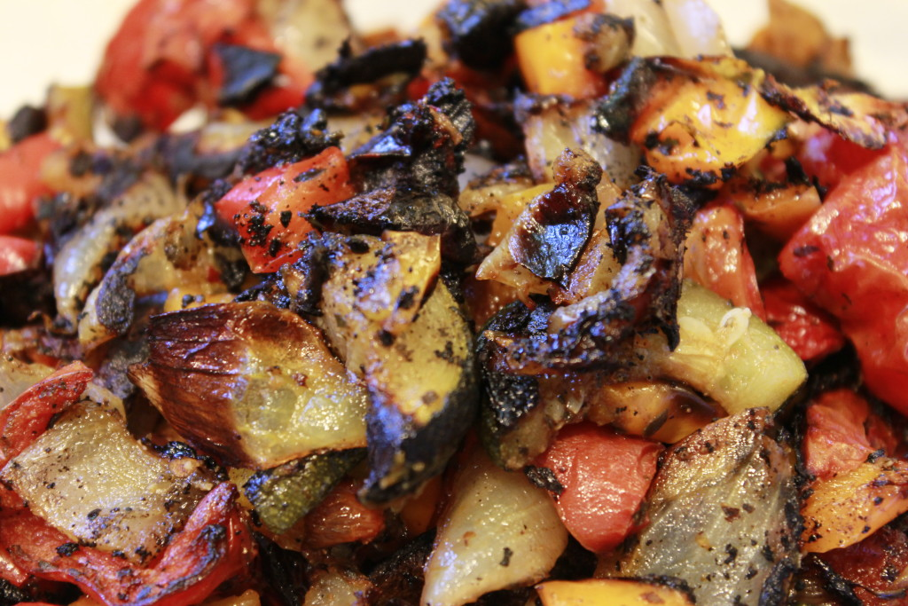 Roasted veges  nicely done!